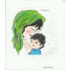 Eşarfă Verde