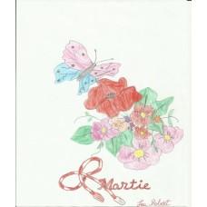 Flori şi fluturi 8 Martie