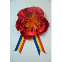 """Brosa """"Bujorul Românesc®"""" Cu Tricolor"""